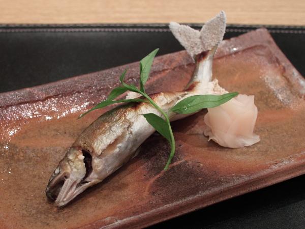 鮎 塩焼き