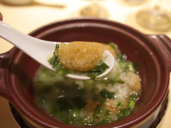 スープかけ焼きご飯