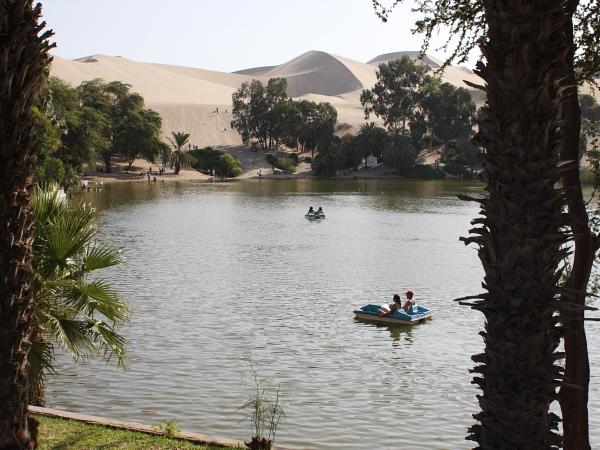 ワカチナ湖