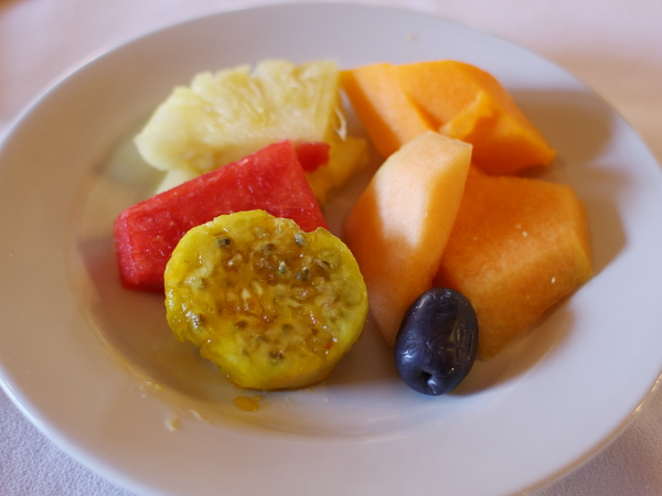 サボテンとフルーツ