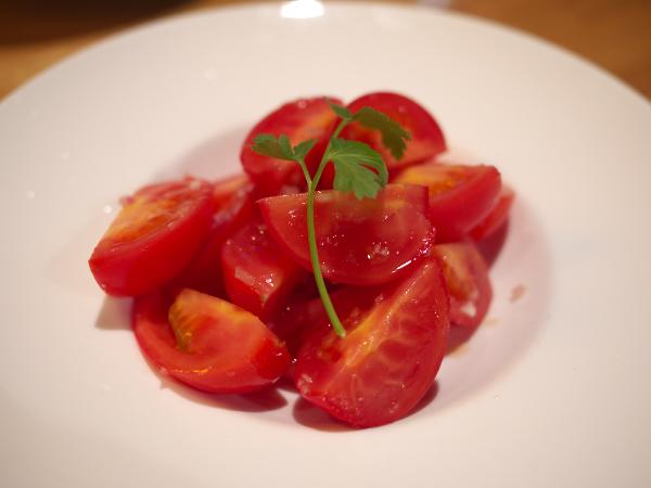 ロケットトマトのサラダ