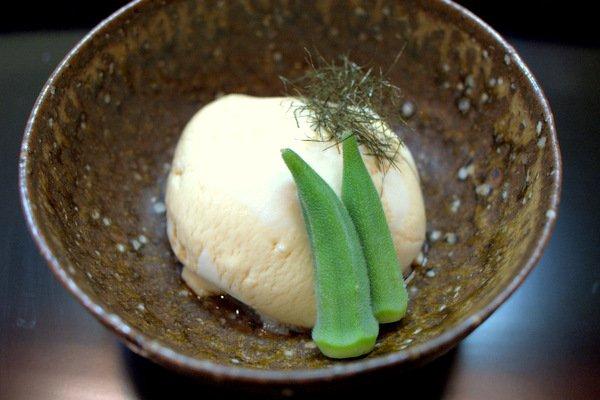 豆腐と湯葉のペースト