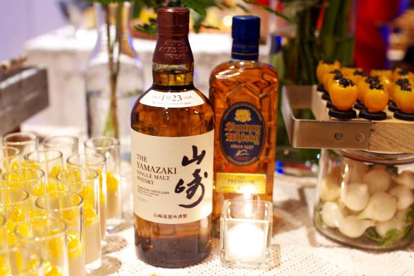 山崎とプレミアム角瓶
