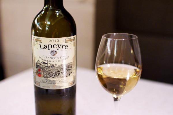 シュッド・ウエストのLapeyre Jurancon Sec 2011(ラペール ジュランソン・セック2011