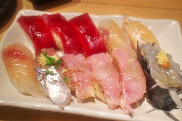 寿司 にぎにぎ一 西荻窪1